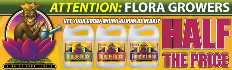 Advanced Nutrients Jungle Juice Micro, Grow, Bloom