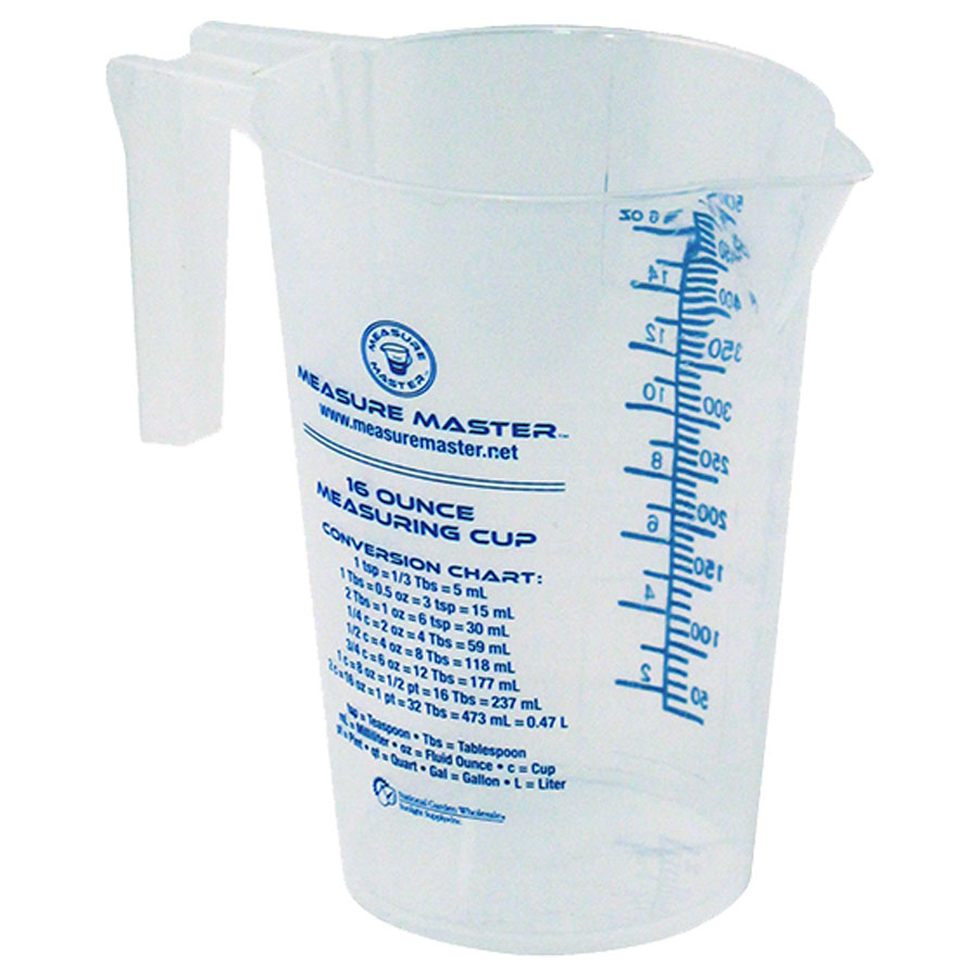Measure master container graduated 16 oz 500 ml geenschuldenfo Image collections