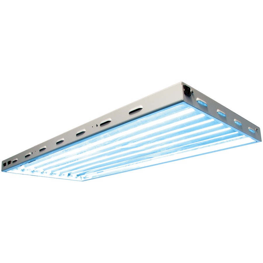 Sun blaze 4 8 lamp t5 fluorescent light fixture comes with bulbs arubaitofo Images
